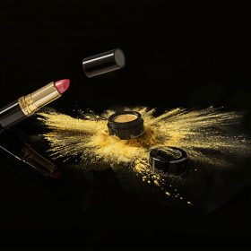Product photography make up